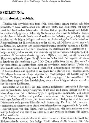 Eskilstuna historia