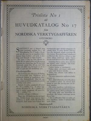 NordiskaVerktygsaffaren17Pris